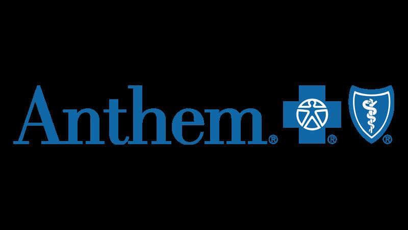anthem blue cross blue shield logo - top health insurance coverage provider in newnan georgia